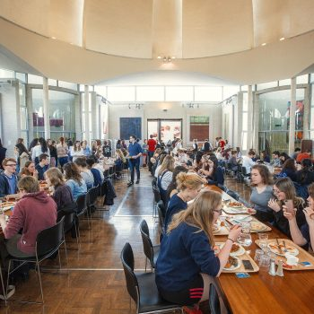Dome cafeteria at Murray Edwards Events Cambridge