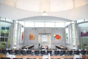 Art surrounds your residential conference at Murray Edwards Cambridge
