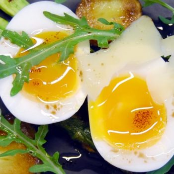 Salad of Jersey Royals and Duck Egg