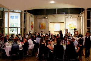 Christmas party at Murray Edwards College Cambridge