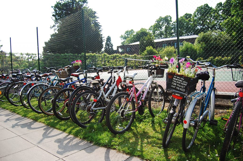 Cycling at Murray Edwards College Events Cambridge