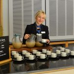 Refreshments for meetings and events at Murray Edwards College Cambridge