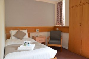 Cambridge College Accommodation Single Bedroom