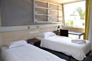 Accommodation and bed and breakfast at Murray Edwards College Cambridge